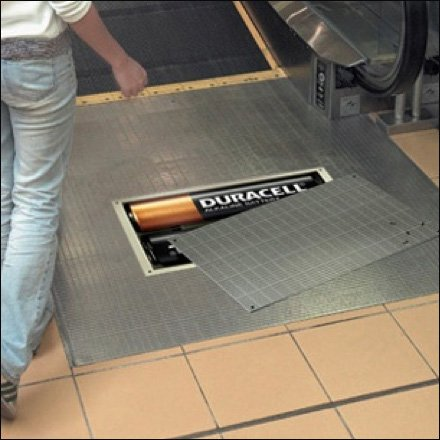 Duracell Powered Escalator by ssar CloseUp.com