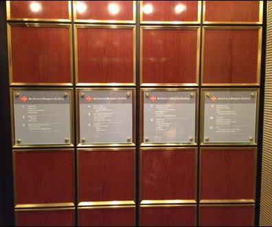 Elevator Directory Overall