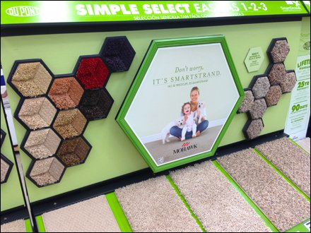 Hexagonal POP for Carpet 4