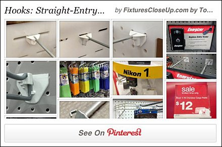 Straight-Entry Hooks Pinterest Board