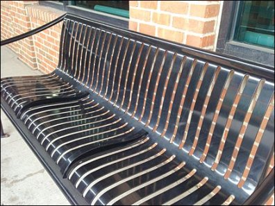 Bench Median Strip Built-in 2