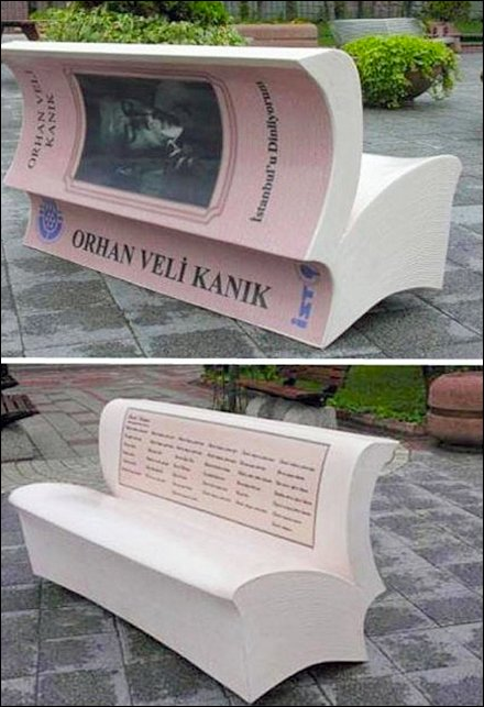 Book As Branded Bench Promotion
