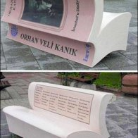 Book Bench Street Art Branding
