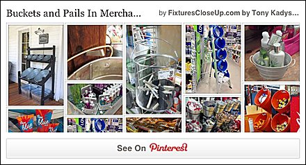Buckets and Pails in Merchandising