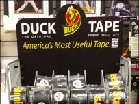 Duck Tape Floor Stand in Sports 1