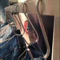 Flat-Stock S-Hook for Jeans