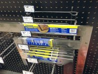 Nested Squares Pegboard Rack 3