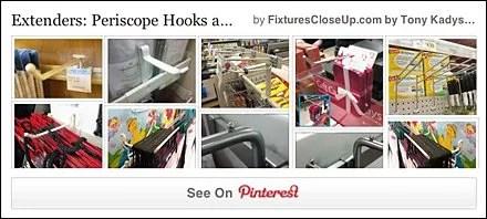 Periscope Hooks Pinterest Board on FixturesCloseUp