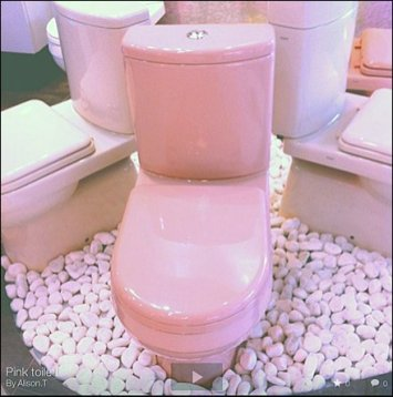 Pink Fixtures In Retail