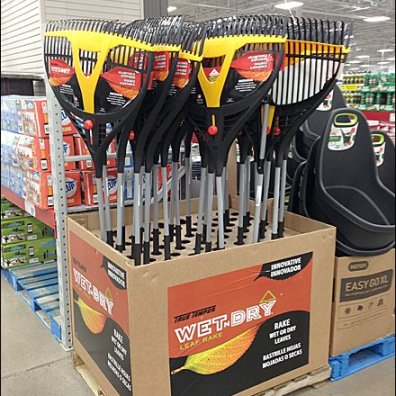 Rakes as Fall Corrugated PrePack Main