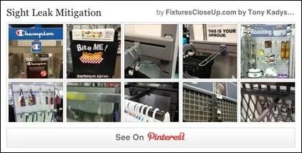 Sight Leak Mitigation Pinterest Board on FixturesCloseUp