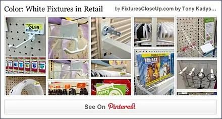 White Fixtures in Retail FixturesCloseUp Pinterest Board