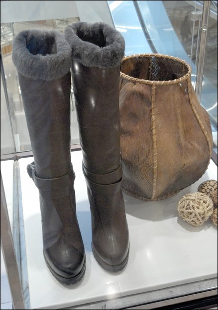 Boots and Leather Basket Main