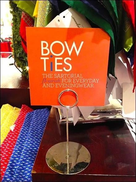 Bow Ties Sartorial Flourish Not Main