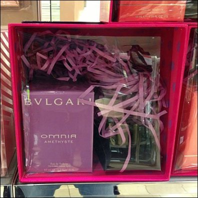 Bulgari Coral and Amethyste