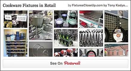 Cookware Fixtures Pinterest Board for FixturesCloseUp