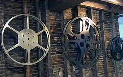 Film Reel Decor Aux