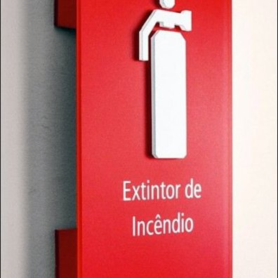 Fire Extinguisher Attention Compeller