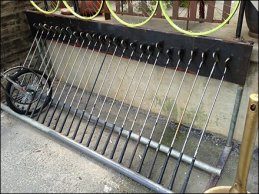 Golf Club Bike Rack 2