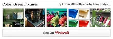 Green Fixtures Pinterest Board on FixturesCloseUp