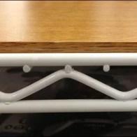 Metro Super Erecta Shelf White Powder Coat