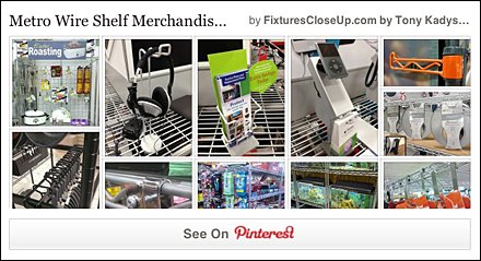 Metro Wire Open Shelf Pinterest Board