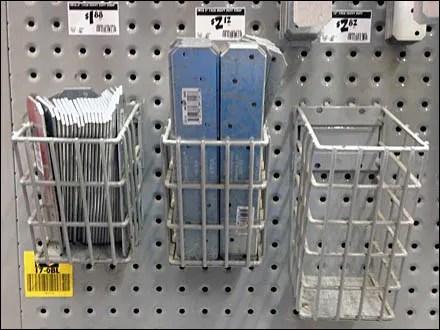 Strap Wireform Bils on Perfed Metal