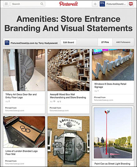 Amenities: Store Entrance Branding And Visual Statements