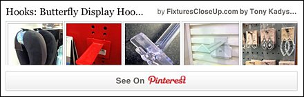 Butterfly Hooks FixturesCloseUp Pinterest Board