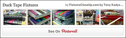 Duck Tape® Fixtures Pinterest Board for FixturesCloseUp