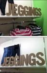 Jeggins True Corrugated Sign Composite