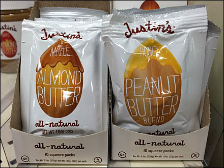 Justin's Nut Butter Front View Main
