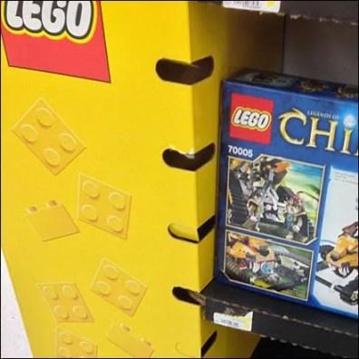 Lego Corrugated Variable Shelf Height Main