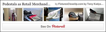 Pedestals in Retail FixturesCloseUp Pinterest Boards