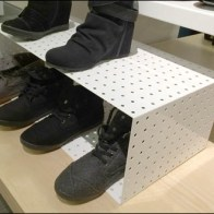 Perforated Metal Shoe Box 3