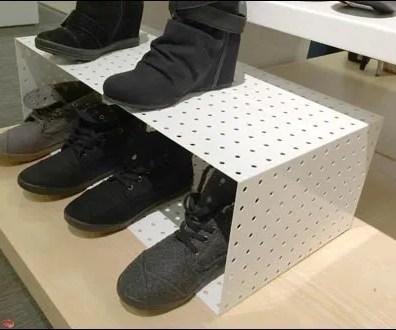 Perforated Metal Shoe Box 3
