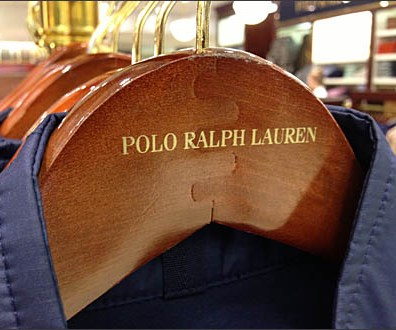 Polo Ralph Loren Gold Imprint Hanger Main
