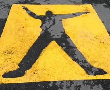 Warning Pedestrian Zone 2