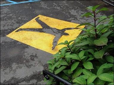 Warning Pedestrian Zone 3