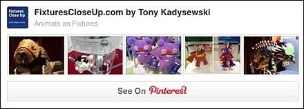 Animals as Fixtures Pinterest Board on FixturesCloseUp