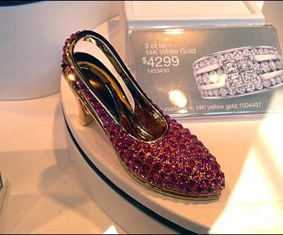 Bejeweled Kitten Heels Jewelry On Sale 1