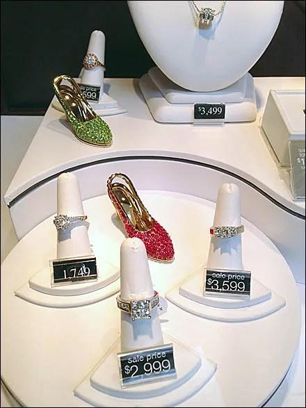 Bejeweled Kitten Heels Jewelry On Sale Main