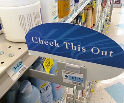 Bottom Mount Shelf Edge Speech Balloon Main