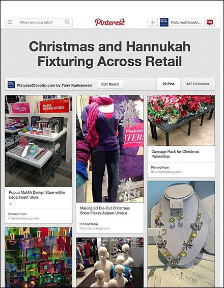 Christmas and Hannukah Fixturing Across Retail