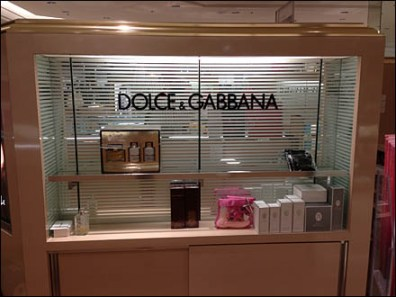 Dolce and Gabbana Fragrance Display 1