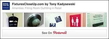 Fitting Room Amenities Pinterest Board