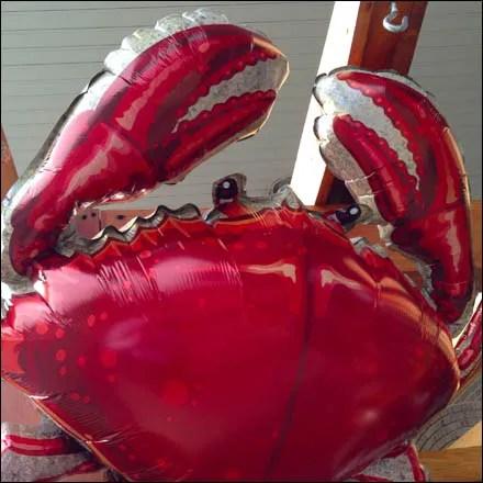 Flying Crab Inflatable Main Closeup