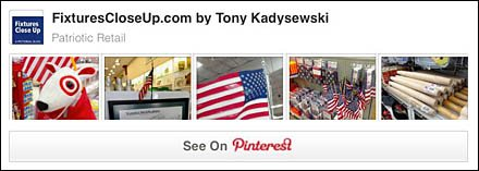 Patriotic Fixtures and Merchandising Pinterest Board