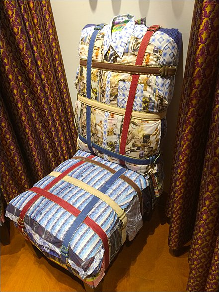 Robert Graham Fitting Room Upholstry Aux
