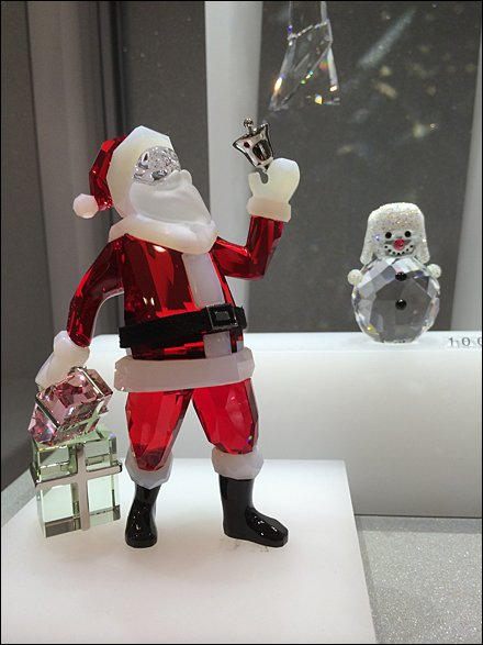 Santa at Swarovski